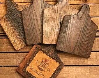 Reclaimed Barn Wood Horn Board Barnwood