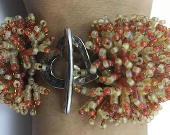 Coral flower Bracelet (Instant Download)