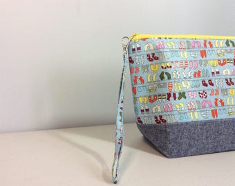 Small knitting Bag - Socks, socks, socks