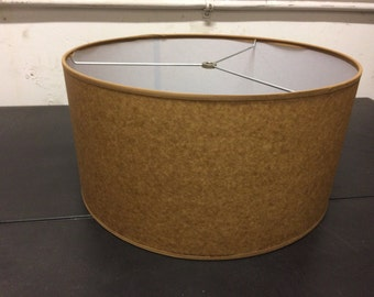 Drum lamp shade etsy kraft mid century modern drum lamp shade 16 w x aloadofball Choice Image
