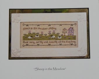 Sheep in the Meadow by Country Cottage Needleworks