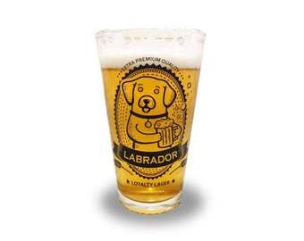Labrador Retriever - Labrador Retriever Beer Pint Glass