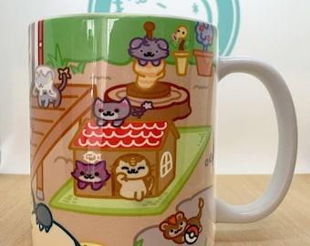 Pokemon Neko Atsume Mug