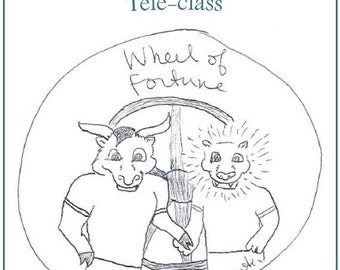 Wheel of Fortune Teleclass Recording and Workbook - self-development class using the tarot archetype of the Wheel of Fortune
