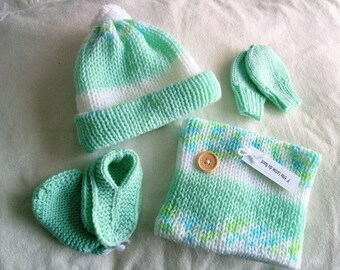 4 pieces set 0-4 months old baby boy and girl