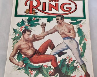 The Ring Magazine January 1951 Christmas Cover