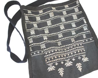 50% off Sale-Vietnamese Embroidered Ethnic Tote