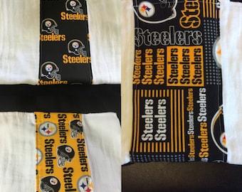 Pittsburgh Steelers Burp Cloth