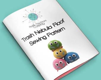 Trash Nebula Floof Sewing Pattern (PDF)