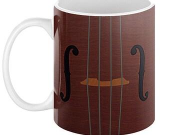 VIOLIN VIOLA CELLO Coffee Mug, 11oz or 15oz
