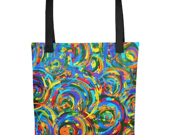 Lollipops Tote bag