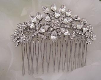 wedding hair piece,bridal hair piece,wedding hair accessories,bridal comb hair,bridal hair comb,wedding comb,wedding hair comb,crystal hair