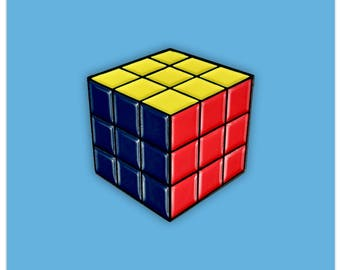 Rubik's Cube Pin