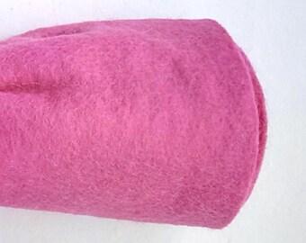 Cerise Pink felt squares.