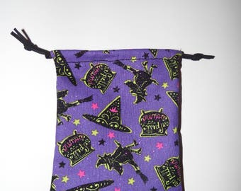 Toil and Trouble Cleansing Tarot Bag