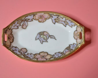 Vintage Small Handpainted Dish by Nippon