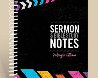 Sermon Notes for Teen Girls / Premium Sermon Notebook