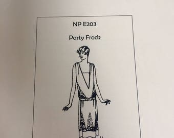 1928 Party Frock - a flapper dress pattern