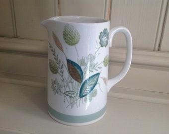Vintage ceramic Clovelly woods ware jug 1960s
