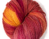 Naturally dyed multicolor...