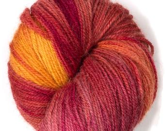 Naturally dyed multicolor yarn Hehku