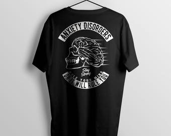 Anxiety Disorder t-shirt, anxiété shirt,