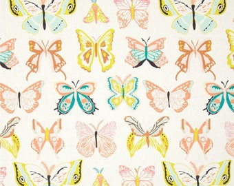 Wingspan in Melon - Winged by Bonnie Christie - Art Gallery Fabric Quilting Cotton 1/2 Yard+