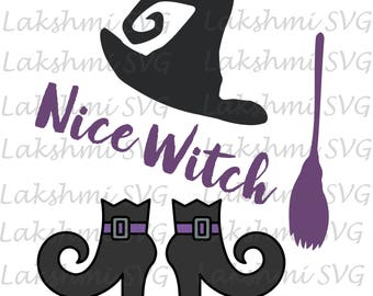 Halloween svg,Witch Shoes, Halloween Clipart,Witch svg, Halloween, Halloween png, Halloween Silhouette, Halloween Vector, Nice witch svg
