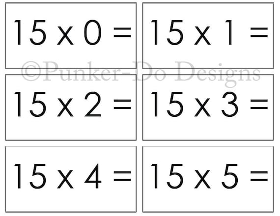 This is a graphic of Sassy Free Printable Multiplication Flash Cards Pdf
