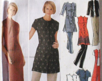 Simplicity Sewing Pattern - Misses/Misses Petite Dress, Tunic Top, Pants and Skirt - Simplicity 5589 - Size 16-18-20-22, Bust 38 - 44, Uncut