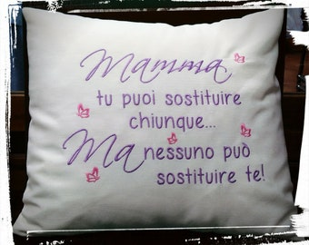Mother's Day Pillow irreplaceable