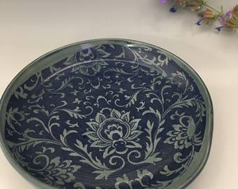Blue Kitchen Spoon Rest