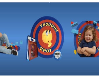 Thought Spot 24 Inch Portable Time Out Mat For Discipline & Behavioral Situations