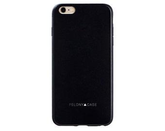 Matte Black Essential iPhone 6 Case // Matte Black iPhone iPhone 6/6s Case // (6E-MB)