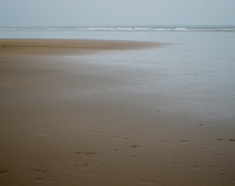 Sandy beach (original photographic print)