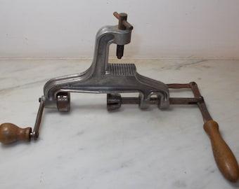 Gun Cartridge Refilling Tool, Cartridge loading vice. Vintage French cartridge charger, gun cartridge loading tool, hunters tool, press(1491