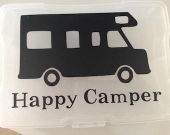 Happy Camper RV Vinyl Decal