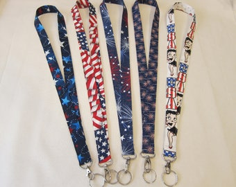 Lanyards Patriotic (Your Choice)