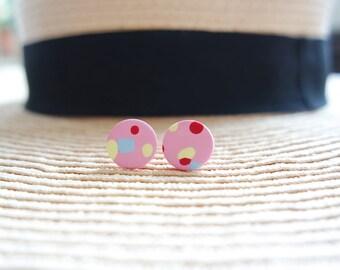 Confetti Stud Earrings!