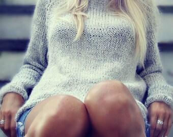 Knitting Pattern - Katrines Sweater - Instant Digital Download - PDF - Pattern - One Size