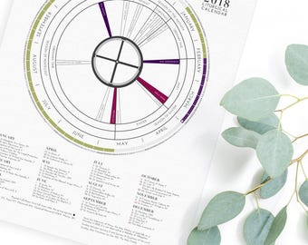 2018 LITURGICAL CALENDAR - Bulk Pricing - Gift for Baptism, First Communion, Confirmation
