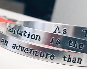 ADSoM Quote Bracelet