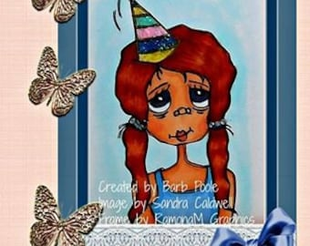 852 Party Patsy Digi Stamp