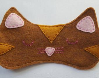Kitty Sleeping Mask -can customize color!