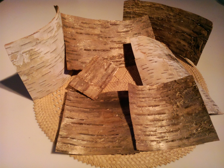 Wood veneer sheets birch bark veneer woodworking for Wood veneer craft projects