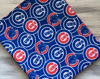 Chicago Cubs Blanket, Minky Baby Blanket, Newborn Blanket, Personalized Blanket, Lovey, Custom Made Blanket, Perfect Shower Gift, Minky