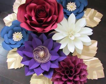Large Paper Flower/Nursery Decor ***Color Customizable***
