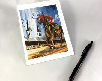 Kentucky Derby 2017 Greeting Card