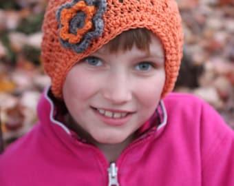 Light Orange Slouch Hat