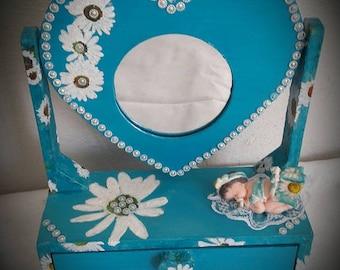 box has mirror jewelry